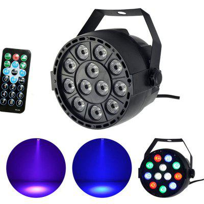 Outdoor Led Par With 12WATT 12pcs RGBW Led Par Stage Light Waterproof Multi-Color with Remote Control