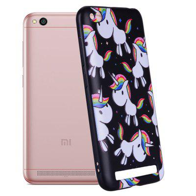 Case For Xiaom Redmi 5A Rainbow Unicorn Design TPU Hand Case