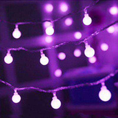 6M LED Ball Shaped String Light Decorative Lamp