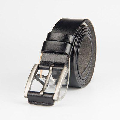 Casual Leather Belt Single Leather Retro Belt