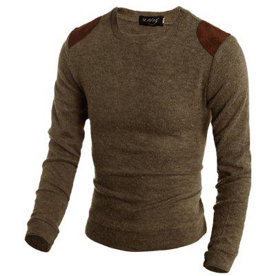 Pure Color  Fashion Men SweaterMens Sweaters &amp; Cardigans<br>Pure Color  Fashion Men Sweater<br><br>Collar: Round Collar<br>Material: Polyester<br>Package Contents: 1xSweater<br>Package size (L x W x H): 1.00 x 1.00 x 1.00 cm / 0.39 x 0.39 x 0.39 inches<br>Package weight: 0.3500 kg<br>Size1: M,L,XL,2XL<br>Sleeve Length: Full<br>Type: Pullovers