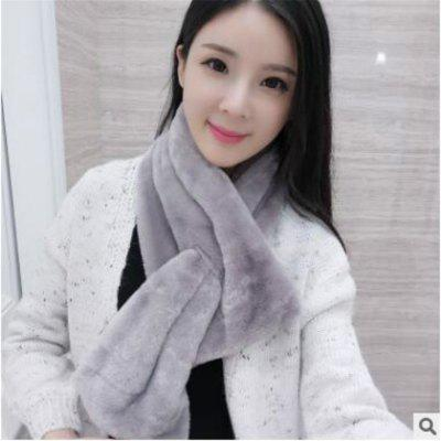 Imitation Rabbit Pure Cross Cross Plush ScarfWomens Scarves<br>Imitation Rabbit Pure Cross Cross Plush Scarf<br><br>Elasticity: Micro-elastic<br>Gender: For Women<br>Group: Adult<br>Package Contents: 1 x Scarf<br>Package size (L x W x H): 10.00 x 5.00 x 3.00 cm / 3.94 x 1.97 x 1.18 inches<br>Package weight: 0.4000 kg<br>Scarf Type: Scarf<br>Season: Winter<br>Style: Vintage