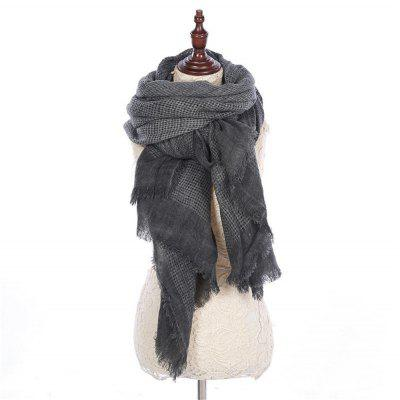 Women Imitation Cashmere Scarves Thick Warmth