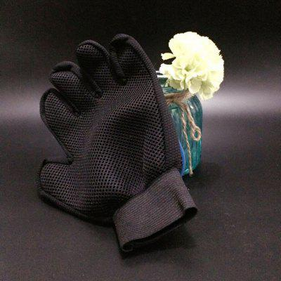 Pet Supplies Environmental Silicone Right Hand Massage Gloves Bath Brush