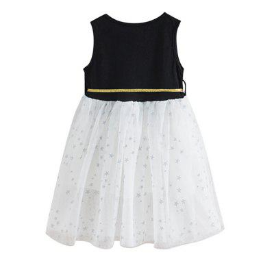 Five-Pointed Star Childrens DressGirls dresses<br>Five-Pointed Star Childrens Dress<br><br>Dresses Length: Knee-Length<br>Material: Cotton<br>Package Contents: 1 x Dress<br>Pattern Type: Star<br>Silhouette: A-Line<br>Style: British<br>Weight: 0.1200kg<br>With Belt: No