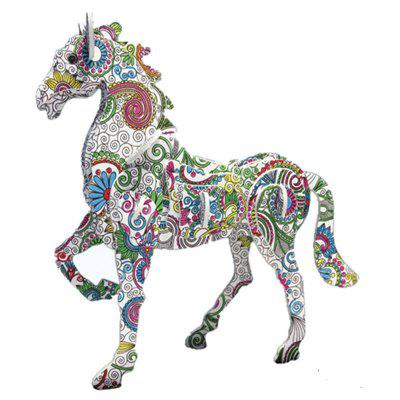 3D Coloring Puzzles Educational Toys Creative Toys Animals Butterfly Elephant Horse