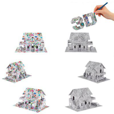 3D Coloring Puzzles Educational Toys Creative Toy HouseLogic &amp; Puzzle Toys<br>3D Coloring Puzzles Educational Toys Creative Toy House<br><br>Gender: Boys,Girls<br>Materials: Paper<br>Package Contents: 1 x Puzzle, 10 x Colorful pencils, 1 x Gift Box<br>Package size: 22.00 x 14.00 x 3.50 cm / 8.66 x 5.51 x 1.38 inches<br>Package weight: 0.1500 kg<br>Stem From: Other<br>Style: Geometric Shape, Construction, Landscape, Cartoon<br>Theme: Movie and TV,Fantasy and Sci-fi<br>Type: Jigsaw Puzzle, Personalized Jigsaw, 3D Puzzle