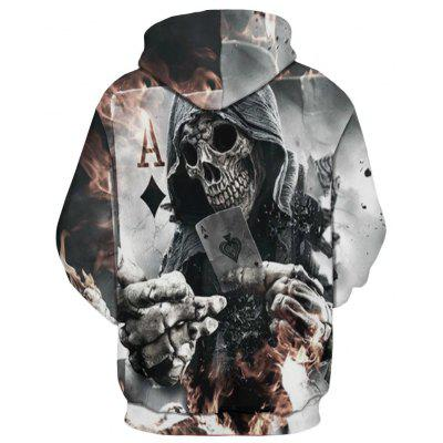Skull Digital Printing HoodieMens Hoodies &amp; Sweatshirts<br>Skull Digital Printing Hoodie<br><br>Fabric Type: Broadcloth<br>Material: Cotton<br>Package Contents: 1 x hoodie<br>Shirt Length: Regular<br>Sleeve Length: Full<br>Style: Fashion<br>Weight: 0.4000kg