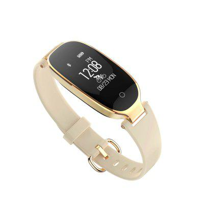 Moda S3 Pulseira Smart Bracelet Monitor de frequência cardíaca Bangle Smartband Fitness Tracker Sports Wristbands para Android iOS
