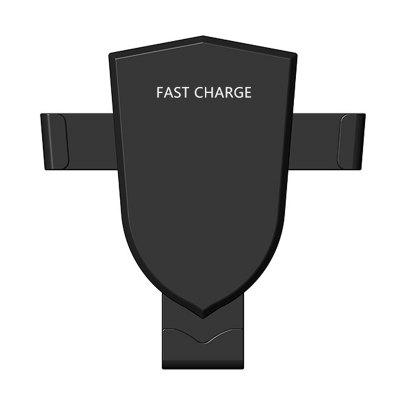 Gravity Car Mount QI Wireless Charger 9V Fast Wireless Charging Pad for Samsung Galaxy S8 S8+ S7 iPhone 8 X more