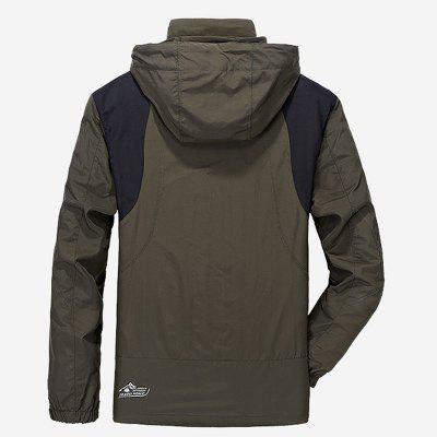 Mens Trench Casual Windproof Camping CoatMens Jackets &amp; Coats<br>Mens Trench Casual Windproof Camping Coat<br><br>Clothes Type: Jackets<br>Collar: Hooded<br>Material: Polyester<br>Package Contents: 1 x Jacket<br>Season: Spring<br>Shirt Length: Regular<br>Sleeve Length: Long Sleeves<br>Style: Casual<br>Weight: 0.6000kg