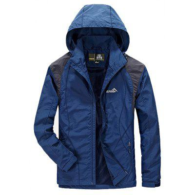 Men's Trench Casual Windproof Camping Coat