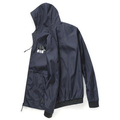 Men's Casual Jacket Chic Hooded All Match Outdoor Jacket