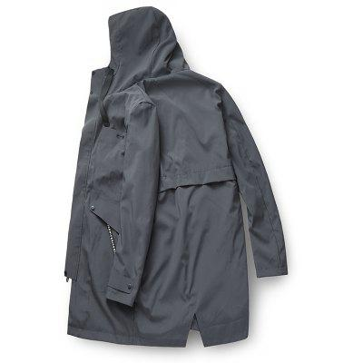 Mens Casual Windproof All Match Outdoor JacketMens Jackets &amp; Coats<br>Mens Casual Windproof All Match Outdoor Jacket<br><br>Clothes Type: Trench<br>Collar: Hooded<br>Material: Polyester<br>Package Contents: 1 x Jacket<br>Season: Spring<br>Shirt Length: Long<br>Sleeve Length: Long Sleeves<br>Style: Casual<br>Weight: 0.6000kg