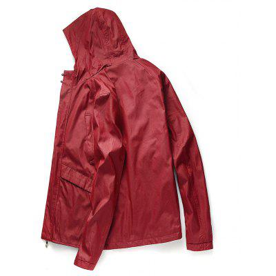 Mens Casual Windproof All Match JacketMens Jackets &amp; Coats<br>Mens Casual Windproof All Match Jacket<br><br>Clothes Type: Jackets<br>Collar: Hooded<br>Material: Polyester<br>Package Contents: 1 x Jacket<br>Season: Spring<br>Shirt Length: Regular<br>Sleeve Length: Long Sleeves<br>Style: Casual<br>Weight: 0.5000kg