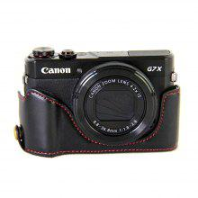 PU Leather Half Camera Case Cover for Canon coupons