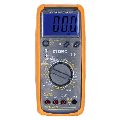 DT-8200Q LCD Handheld Digital Multimeter Using for Home and Car