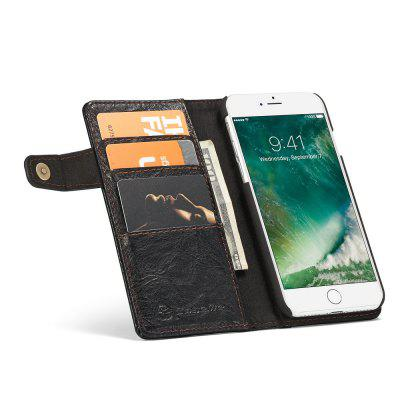 CaseMe Vintage Style PU Leather Wallet Phone Case for iPhone 7/8iPhone Cases/Covers<br>CaseMe Vintage Style PU Leather Wallet Phone Case for iPhone 7/8<br><br>Brand: CaseMe<br>Color: Black,Red,Blue,Brown<br>Compatible for Apple: iPhone 7, iPhone 8<br>Features: Back Cover, With Credit Card Holder, Shatter-Resistant Case, Wallet Case<br>Material: PC, PU Leather, Metal<br>Package Contents: 1 x Phone Case<br>Package size (L x W x H): 14.40 x 7.20 x 2.10 cm / 5.67 x 2.83 x 0.83 inches<br>Package weight: 0.0870 kg<br>Product size (L x W x H): 14.30 x 7.10 x 2.00 cm / 5.63 x 2.8 x 0.79 inches<br>Product weight: 0.0770 kg<br>Style: Name Brand Style, Leather, Vintage