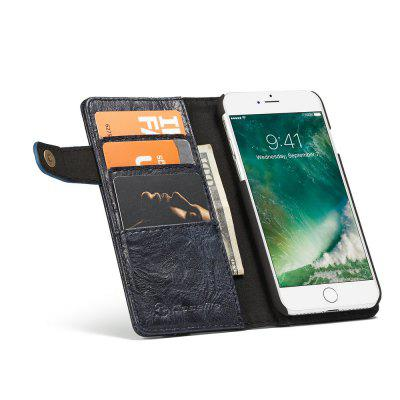 CaseMe Vintage Style PU Leather Wallet Phone Case for iPhone 7/8