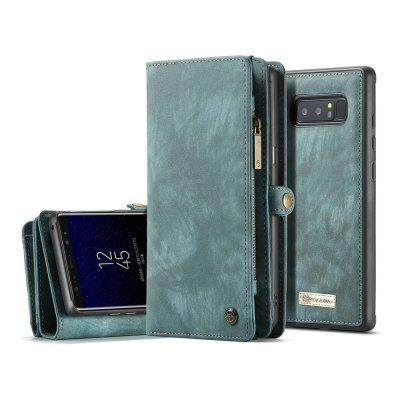 CaseMe for Samsung Galaxy Note 8 Flip Kickstand Wallet Case with 11 Card Slots and Protective Detachable TPU PC Cover