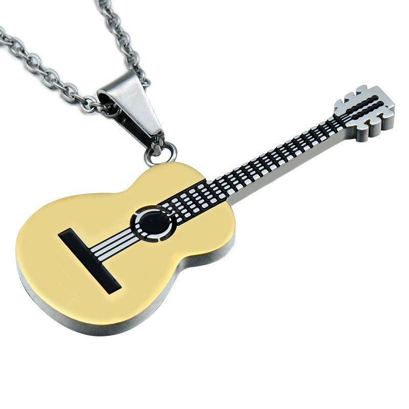 fashion music best fire stainless s selling guitar products steel chain centimom mens ball pendant hot men necklace