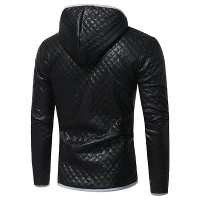 Mens Fashion Hit Color Hooded Casual  Tide Adolescent Large Leather JacketMens Jackets &amp; Coats<br>Mens Fashion Hit Color Hooded Casual  Tide Adolescent Large Leather Jacket<br><br>Closure Type: Single Breasted<br>Clothes Type: Leather &amp; Suede<br>Collar: Hooded<br>Fabric Type: Faux Leather<br>Hooded: Yes<br>Materials: PU<br>Package Content: 1xCoat<br>Package size (L x W x H): 1.00 x 1.00 x 1.00 cm / 0.39 x 0.39 x 0.39 inches<br>Package weight: 0.9100 kg<br>Shirt Length: Short<br>Size1: M,L,XL,2XL,3XL<br>Sleeve Style: Regular<br>Style: Punk