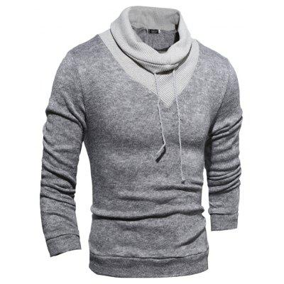 New  Fashion Hedging High-Necked Solid Color SweaterMens Sweaters &amp; Cardigans<br>New  Fashion Hedging High-Necked Solid Color Sweater<br><br>Collar: Turtleneck<br>Hooded: No<br>Material: Polyester<br>Package Contents: 1x Sweater<br>Package size (L x W x H): 1.00 x 1.00 x 1.00 cm / 0.39 x 0.39 x 0.39 inches<br>Package weight: 0.3500 kg<br>Size1: M,L,XL,2XL<br>Sleeve Length: Full<br>Type: Pullovers