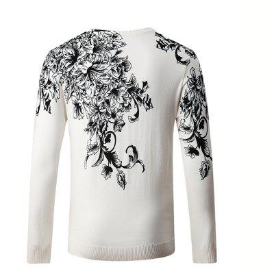Hummingbird Print Pattern Mens V-Neck SweaterMens Sweaters &amp; Cardigans<br>Hummingbird Print Pattern Mens V-Neck Sweater<br><br>Collar: V-Neck<br>Hooded: No<br>Material: Cotton, Polyester<br>Package Contents: 1 x Sweater<br>Package size (L x W x H): 1.00 x 1.00 x 1.00 cm / 0.39 x 0.39 x 0.39 inches<br>Package weight: 0.4000 kg<br>Size1: M,L,XL,4XL,2XL,3XL<br>Sleeve Length: Full<br>Type: Pullovers