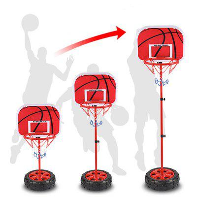 Kids Adjustable Protable Basketball SetClassic Toys<br>Kids Adjustable Protable Basketball Set<br><br>Appliable Crowd: Unisex<br>Materials: Plastic, Metal<br>Nature: Ball<br>Package Contents: 4 x Iron Pipe,1 x Basket Hoop and Net , 1 x Backboard,1 x Base,1 x Basketball,1 x Pump and Needle<br>Package size: 31.00 x 12.00 x 39.00 cm / 12.2 x 4.72 x 15.35 inches<br>Package weight: 1.9000 kg<br>Product weight: 1.5000 kg