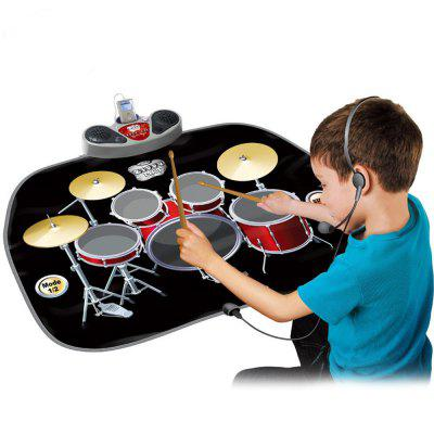 Electric Musical Playmat Toy Instrument Drum