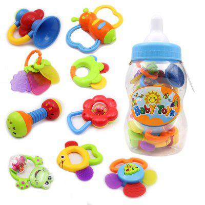 Rattle Teether Set Baby Toy