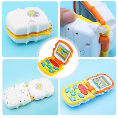 Baby Sound Telephone Musical ToyOther Educational Toys<br>Baby Sound Telephone Musical Toy<br><br>Gender: Unisex<br>Materials: Plastic<br>Package Contents: 1 x Baby Sound Telephone<br>Package size: 17.00 x 7.00 x 5.00 cm / 6.69 x 2.76 x 1.97 inches<br>Package weight: 0.0900 kg<br>Suitable Age: More than 6 months