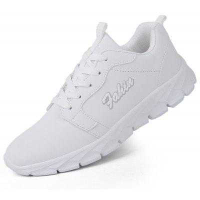 New Sports Leather Casual Lightweight Running ShoesMen's Sneakers<br>New Sports Leather Casual Lightweight Running Shoes<br><br>Available Size: 38-46<br>Closure Type: Lace-Up<br>Feature: Breathable<br>Gender: For Men<br>Outsole Material: EVA<br>Package Contents: 1 x shoes(pair)<br>Package Size(L x W x H): 30.00 x 20.00 x 15.00 cm / 11.81 x 7.87 x 5.91 inches<br>Package weight: 0.5000 kg<br>Pattern Type: Solid<br>Season: Spring/Fall<br>Shoe Width: Medium(B/M)<br>Upper Material: PU