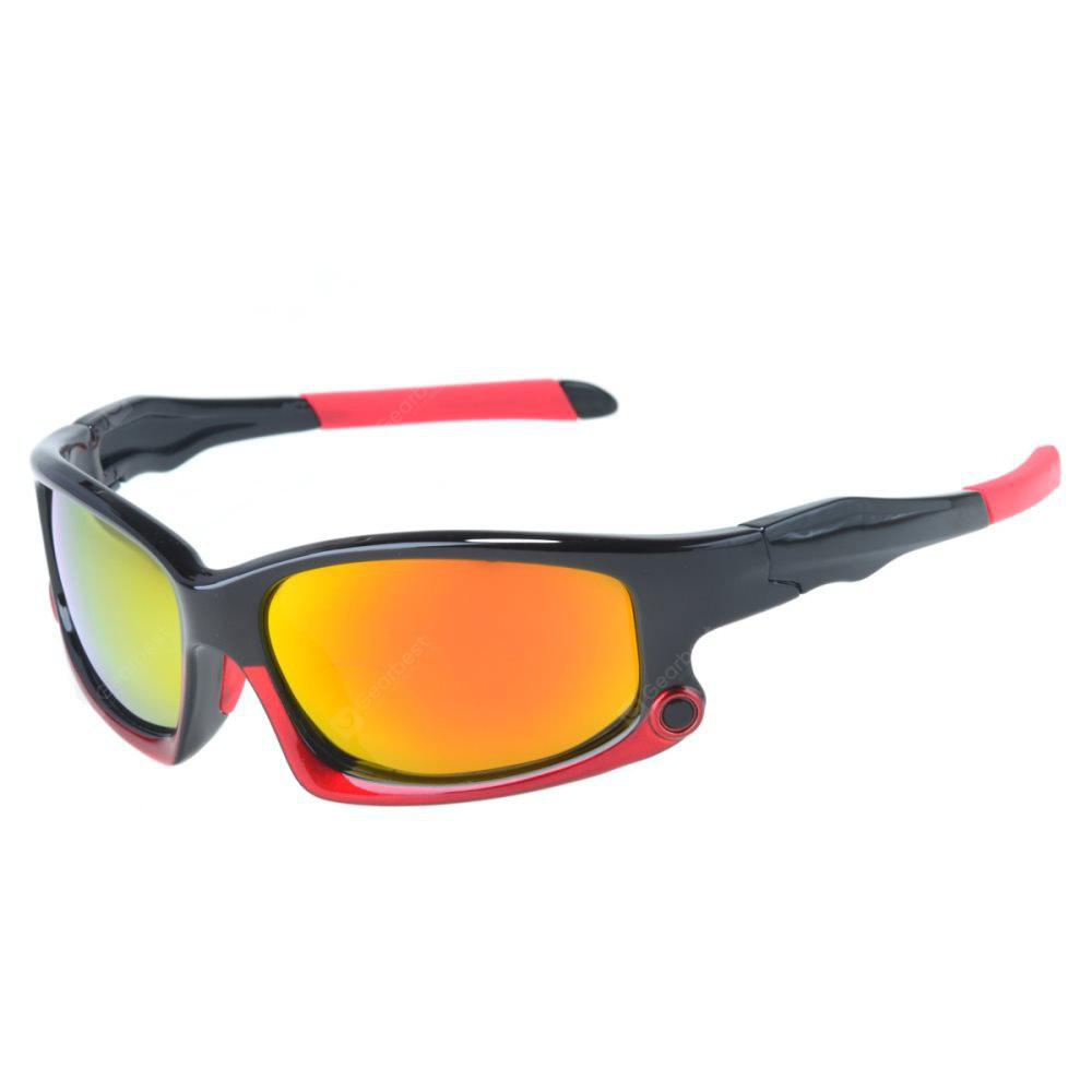 SENLAN Polarized Sport Cycling Running Goggles 9003, RED, Outdoors & Sports, Cycling, Cycling Sunglasses