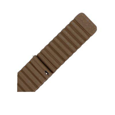 22MM Leather Watchband Magnetic Clasp Strap for LG G Watch W100 W110 / LG G Watch Urbane W150Watch Accessories<br>22MM Leather Watchband Magnetic Clasp Strap for LG G Watch W100 W110 / LG G Watch Urbane W150<br><br>Material: Leather<br>Package Contents: 1 x Band<br>Package size (L x W x H): 20.00 x 6.00 x 1.00 cm / 7.87 x 2.36 x 0.39 inches<br>Package weight: 0.0500 kg<br>Product size (L x W x H): 20.00 x 2.20 x 0.50 cm / 7.87 x 0.87 x 0.2 inches<br>Product weight: 0.0400 kg<br>Type: Smart watch / wristband band