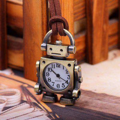 Retro Cartoon Robot Shape Pocket Quartz Keyring Watch Pendant GiftsKey Chains<br>Retro Cartoon Robot Shape Pocket Quartz Keyring Watch Pendant Gifts<br><br>Material: Alloy<br>Package Contents: 1X Retro Keychain Watch<br>Package size (L x W x H): 10.00 x 6.00 x 3.00 cm / 3.94 x 2.36 x 1.18 inches<br>Package weight: 0.0330 kg<br>Product size (L x W x H): 4.70 x 3.00 x 2.00 cm / 1.85 x 1.18 x 0.79 inches<br>Product weight: 0.0310 kg
