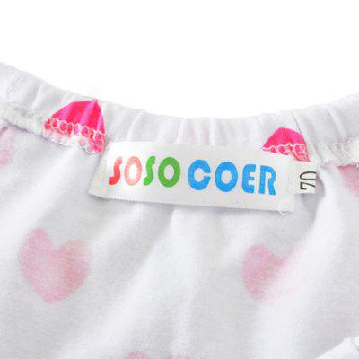 SOSOCOER Newborn Infant Girls Bodysuits Love Stamp Sling Baby Romperbaby rompers<br>SOSOCOER Newborn Infant Girls Bodysuits Love Stamp Sling Baby Romper<br><br>Brand: SOSOCOER<br>Closure Type: Pullover<br>Collar: Square Neck<br>Color: Pink,White<br>Gender: Girl<br>Material: Cotton<br>Package Contents: 1 x Romper<br>Season: Summer<br>Sleeve Length: Sleeveless<br>Sleeve Style: Tank<br>Style: Personality<br>Thickness: General<br>Weight: 0.1100kg