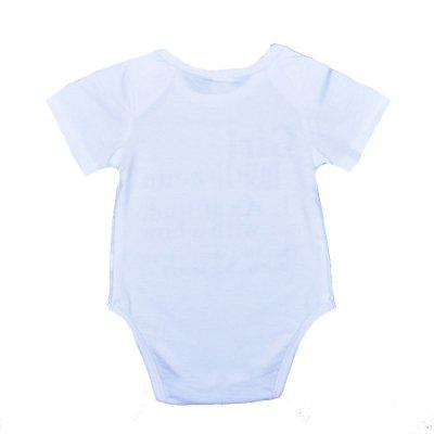 SOSOCOER Newborn Infant Bodysuits Alphabet Short Sleeved Babys Romperbaby rompers<br>SOSOCOER Newborn Infant Bodysuits Alphabet Short Sleeved Babys Romper<br><br>Brand: SOSOCOER<br>Closure Type: Pullover<br>Collar: Round Neck<br>Color: White<br>Gender: Unisex<br>Material: Cotton<br>Package Contents: 1 x Romper<br>Pattern Style: Letter<br>Season: Summer<br>Sleeve Length: Short<br>Sleeve Style: Regular<br>Thickness: General<br>Weight: 0.1200kg