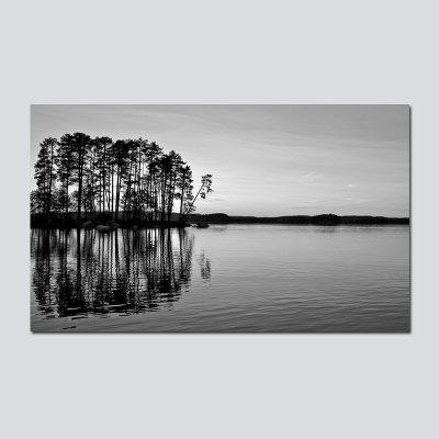 QiaoJiaHuaYuan No Frame Canvas Living Room Sofa Abstract Landscape Decoration Hanging Pictures