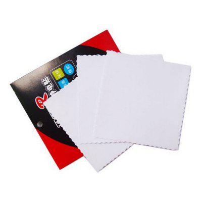 30pcs Car Electrostatic Sticker Eco-friendly Inspection Static Decal Auto Front Rise the Mark Film Auto Supplies