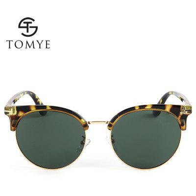 TOMYE 55921 Womens Cat Circle Polarized SunglassesMens Sunglasses<br>TOMYE 55921 Womens Cat Circle Polarized Sunglasses<br><br>Brand: TOMYE<br>Frame Length: 144mm<br>Frame material: Acetate<br>Gender: For Women<br>Group: Adult<br>Lens height: 52mm<br>Lens material: Resin<br>Lens width: 55mm<br>Lenses Optical Attribute: Polarized<br>Nose: 20mm<br>Package Contents: 1 x Pair of Sunglasses<br>Package size (L x W x H): 17.00 x 9.00 x 7.00 cm / 6.69 x 3.54 x 2.76 inches<br>Package weight: 0.0500 kg<br>Product weight: 0.0260 kg<br>Style: Cat Eye<br>Temple Length: 143mm