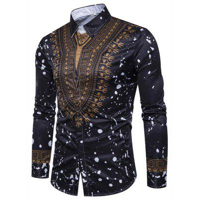 Mens Casual  Long Sleeve Printed Regular Fit Cotton ShirtMens Shirts<br>Mens Casual  Long Sleeve Printed Regular Fit Cotton Shirt<br><br>Collar: Turn-down Collar<br>Fabric Type: Polyester<br>Material: Polyester, Cotton Blends<br>Package Contents: 1 x Shirt<br>Shirts Type: Casual Shirts<br>Sleeve Length: Full<br>Weight: 0.2400kg