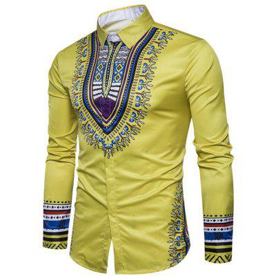 Mens Casual Long Sleeve Turn-down Collar Printed ShirtMens Shirts<br>Mens Casual Long Sleeve Turn-down Collar Printed Shirt<br><br>Collar: Turn-down Collar<br>Fabric Type: Polyester<br>Material: Polyester, Cotton Blends<br>Package Contents: 1 x Shirt<br>Shirts Type: Casual Shirts<br>Sleeve Length: Full<br>Weight: 0.2200kg