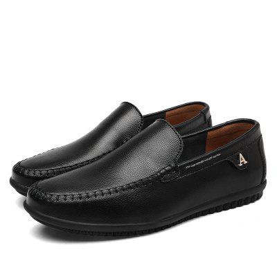 Men Casual Business Peas Shoes Loafers Fashion Outdoor Spring Sport Breathable SneakersFlats &amp; Loafers<br>Men Casual Business Peas Shoes Loafers Fashion Outdoor Spring Sport Breathable Sneakers<br><br>Available Size: 37-47<br>Closure Type: Slip-On<br>Embellishment: None<br>Gender: For Men<br>Occasion: Casual<br>Outsole Material: Rubber<br>Package Contents: 1?Shoes(pair)<br>Pattern Type: Solid<br>Season: Summer, Spring/Fall, Winter<br>Shoe Width: Medium(B/M)<br>Toe Shape: Round Toe<br>Toe Style: Closed Toe<br>Upper Material: PU<br>Weight: 1.2000kg
