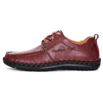 Men Leisure Casual Business Peas Shoes Loafers Fashion Outdoor Sport Breathable SneakersMen's Oxford<br>Men Leisure Casual Business Peas Shoes Loafers Fashion Outdoor Sport Breathable Sneakers<br><br>Available Size: 38-44<br>Closure Type: Lace-Up<br>Embellishment: None<br>Gender: For Men<br>Occasion: Casual<br>Outsole Material: Rubber<br>Package Contents: 1?Shoes(pair)<br>Pattern Type: Solid<br>Season: Summer, Spring/Fall, Winter<br>Shoe Width: Medium(B/M)<br>Toe Shape: Round Toe<br>Toe Style: Closed Toe<br>Upper Material: PU<br>Weight: 1.2000kg