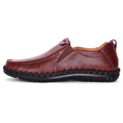 Men Leisure Casual Business Peas Shoes Loafers Fashion Outdoor Spring Sport Breathable SneakersMen's Oxford<br>Men Leisure Casual Business Peas Shoes Loafers Fashion Outdoor Spring Sport Breathable Sneakers<br><br>Available Size: 38-44<br>Closure Type: Slip-On<br>Embellishment: None<br>Gender: For Men<br>Occasion: Casual<br>Outsole Material: Rubber<br>Package Contents: 1?Shoes(pair)<br>Pattern Type: Solid<br>Season: Summer, Spring/Fall, Winter<br>Shoe Width: Medium(B/M)<br>Toe Shape: Round Toe<br>Toe Style: Closed Toe<br>Upper Material: PU<br>Weight: 1.2000kg
