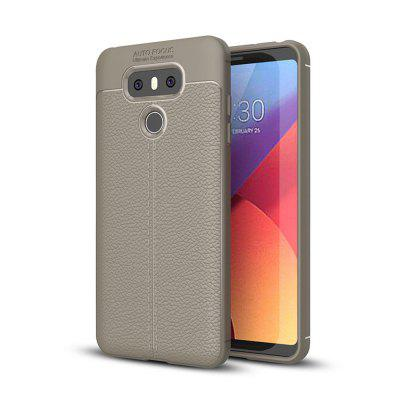 Cover Case for LG G6 Luxury Original Shockproof Armor Soft Leather Carbon TPU