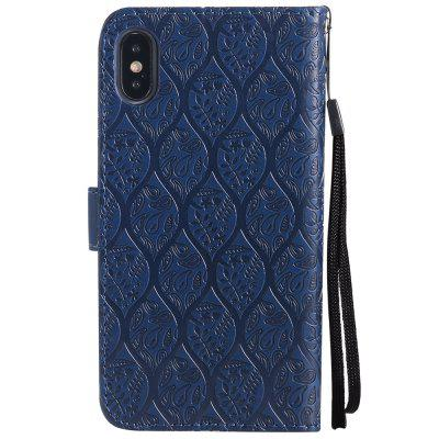 Cover Case For iPhone X Embossed Rattan Pattern PU Leather WalletiPhone Cases/Covers<br>Cover Case For iPhone X Embossed Rattan Pattern PU Leather Wallet<br><br>Features: With Credit Card Holder, With Lanyard<br>Material: PU<br>Package Contents: 1 x Phone Case<br>Package size (L x W x H): 20.00 x 20.00 x 5.00 cm / 7.87 x 7.87 x 1.97 inches<br>Package weight: 0.0500 kg<br>Product weight: 0.0300 kg<br>Style: Pattern, Vintage, Solid Color