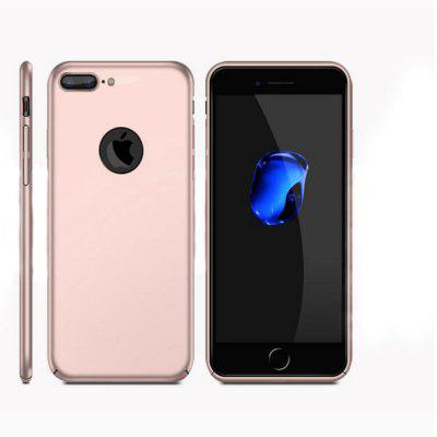 Case Back Cover For iPhone 8 Plus Frosted PC Ultra-thin Edge Fully Wrapped Up Protective Case Back Cover