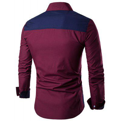 New Mens Business Casual Long-Sleeved ShirtMens Shirts<br>New Mens Business Casual Long-Sleeved Shirt<br><br>Collar: Turn-down Collar<br>Material: Cotton Blends<br>Package Contents: 1 X Shirts<br>Shirts Type: Casual Shirts<br>Sleeve Length: Full<br>Weight: 0.3000kg